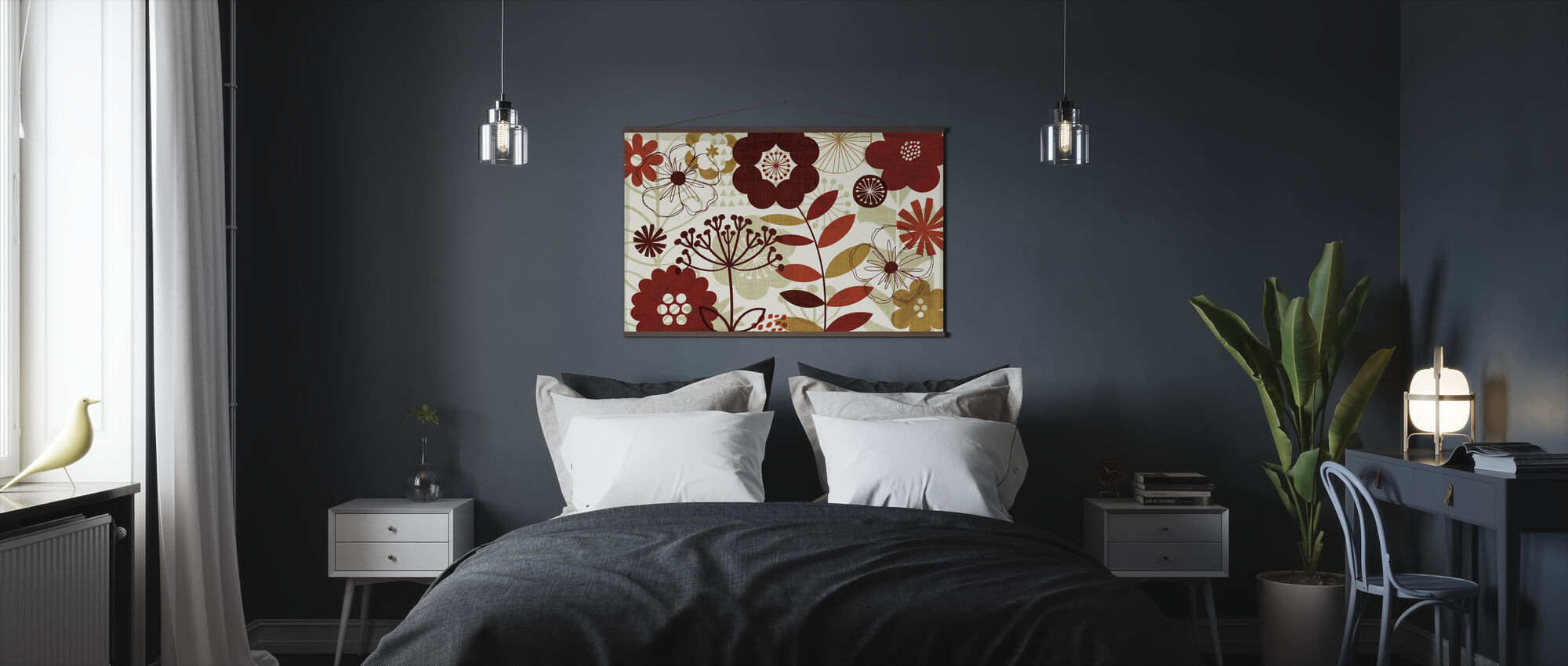 Floral Pop I - Poster - Bedroom