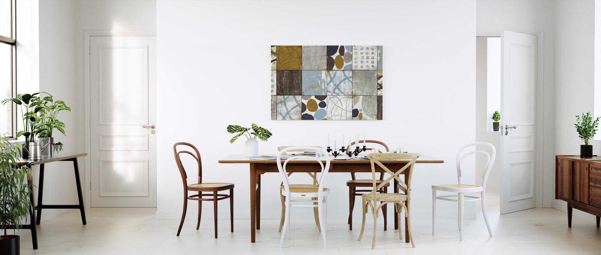 Raw Sienna - Canvas print - Kitchen