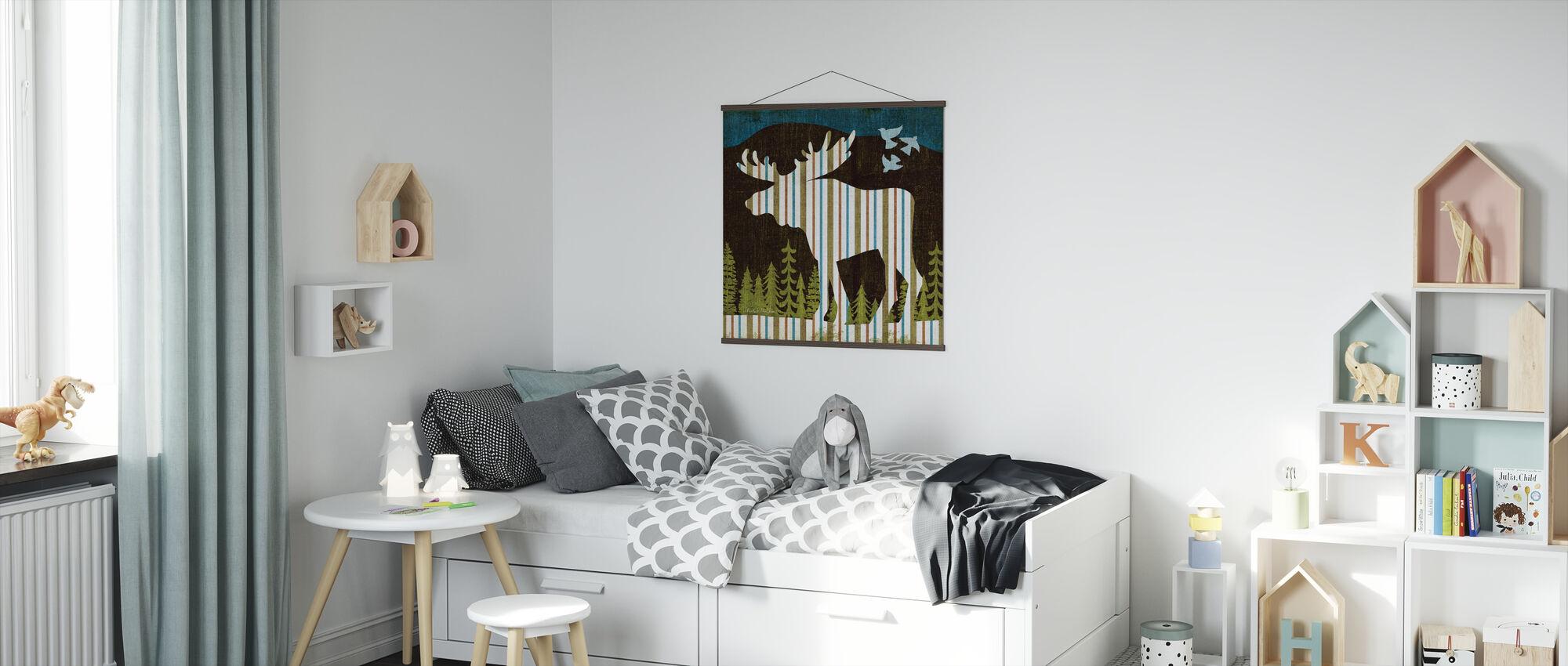 Nighttime Dwellers IV - Poster - Kids Room