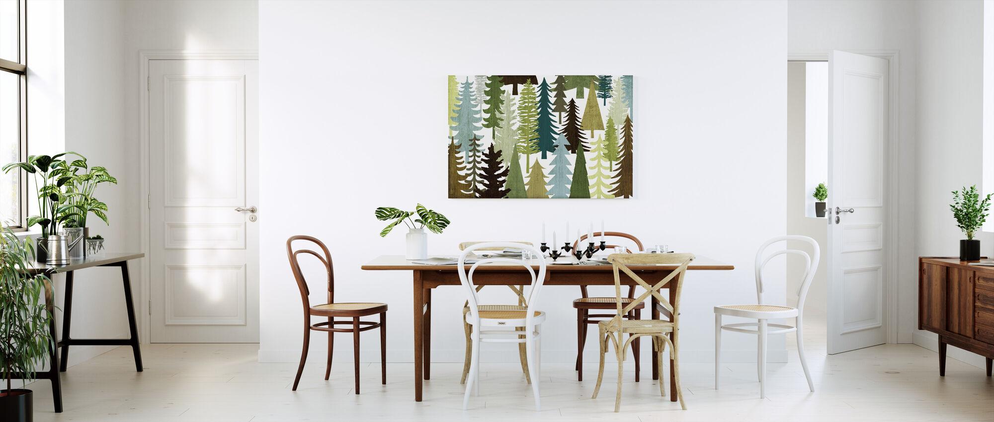 Woodland Trees - Canvas print - Kitchen