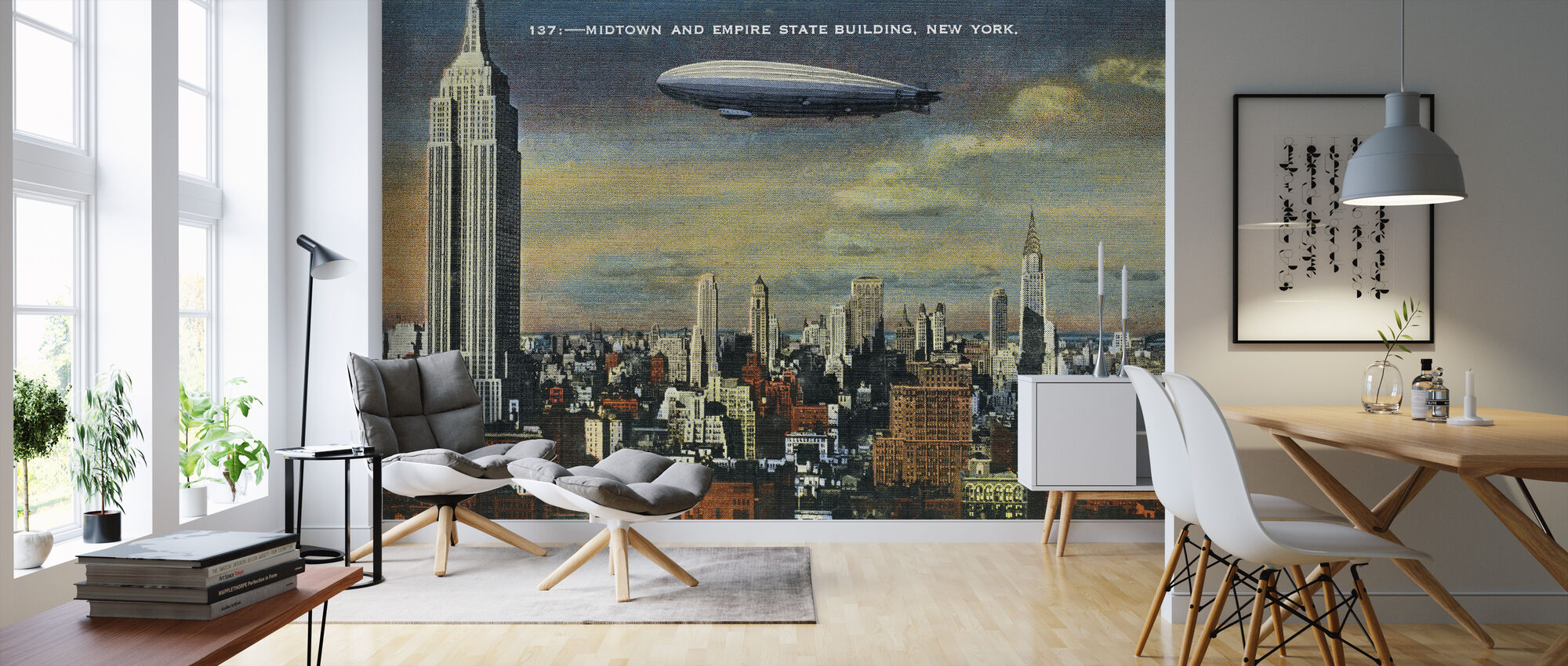 Midtown New York - Wallpaper - Living Room