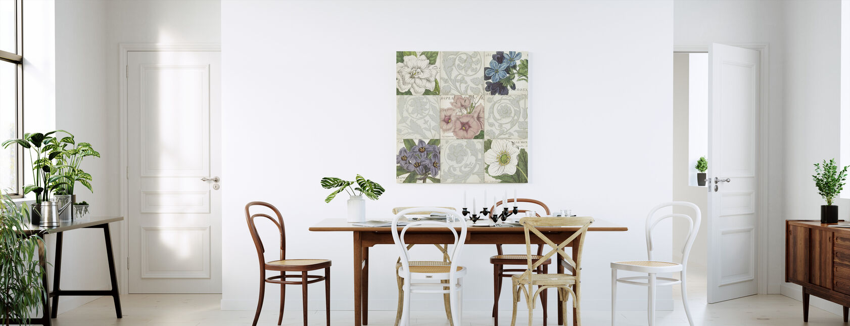 Botanics of I talie - Canvas print - Kitchen
