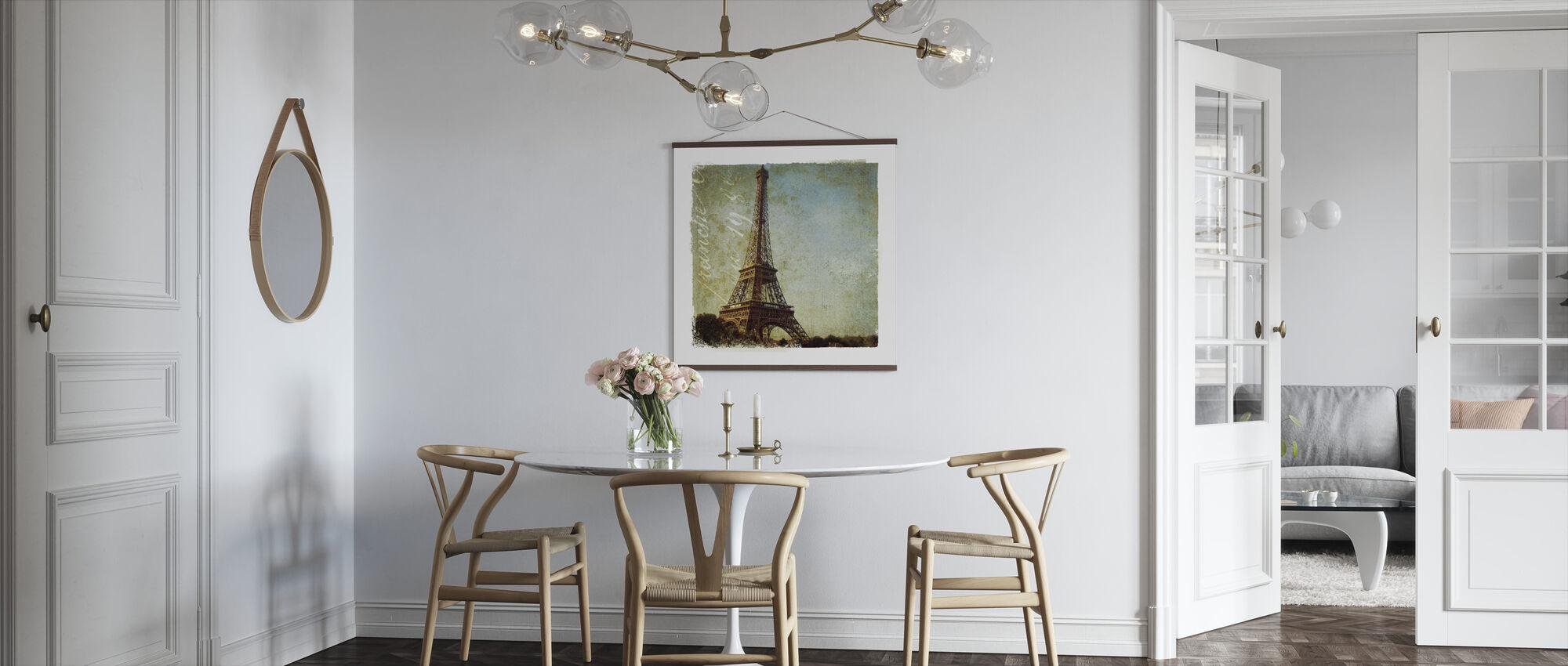 Golden Age of Paris I - Poster - Kitchen