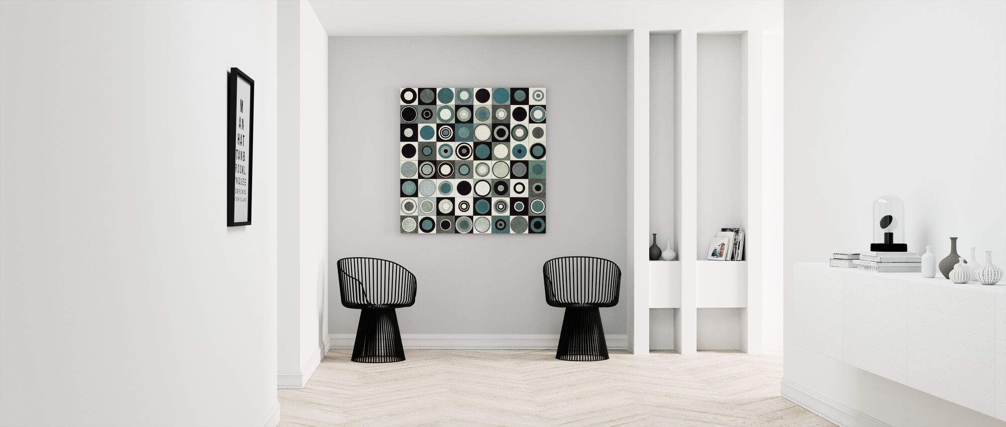 Carnaby Street Blue - Canvas print - Hallway