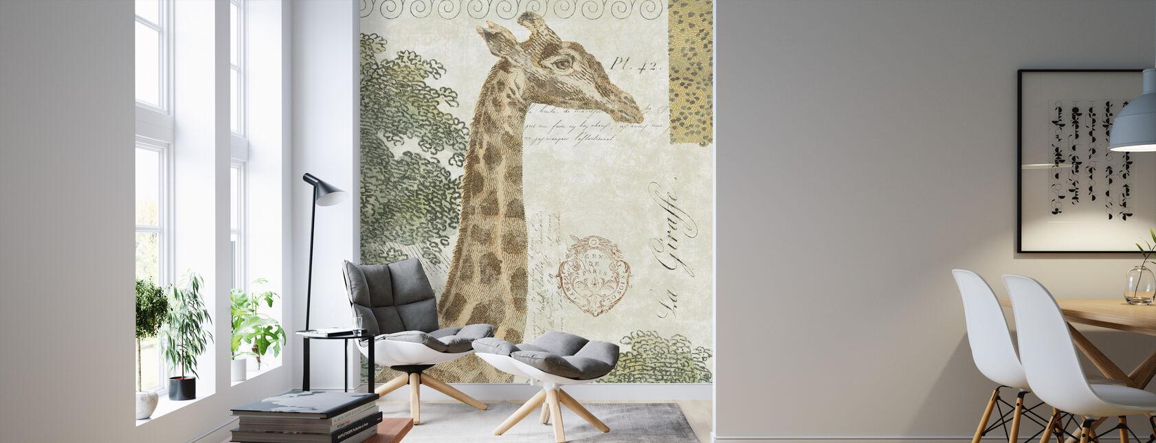 La Giraffe - Tapet - Stue