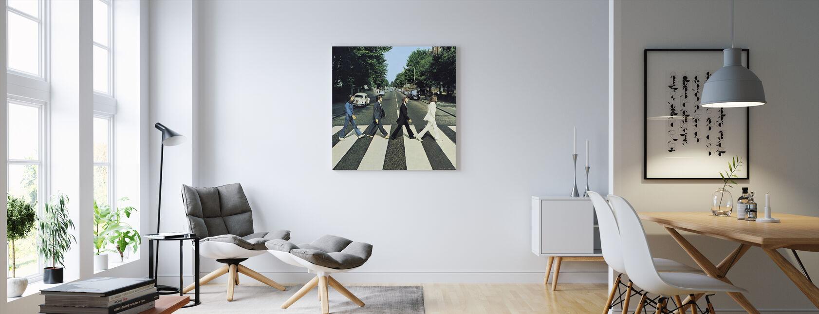 Beatles - Klostervej - Billede på lærred - Stue