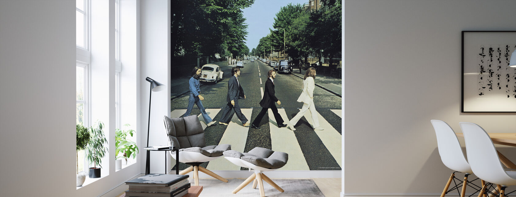 Beatles - Abdij Road - Behang - Woonkamer