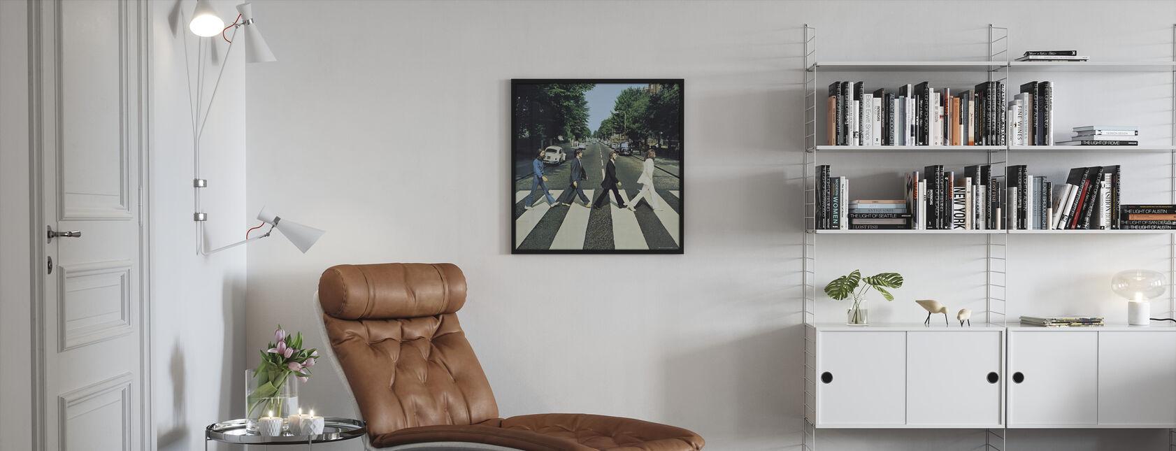 Beatles - Abbey Road - Inramad tavla - Vardagsrum