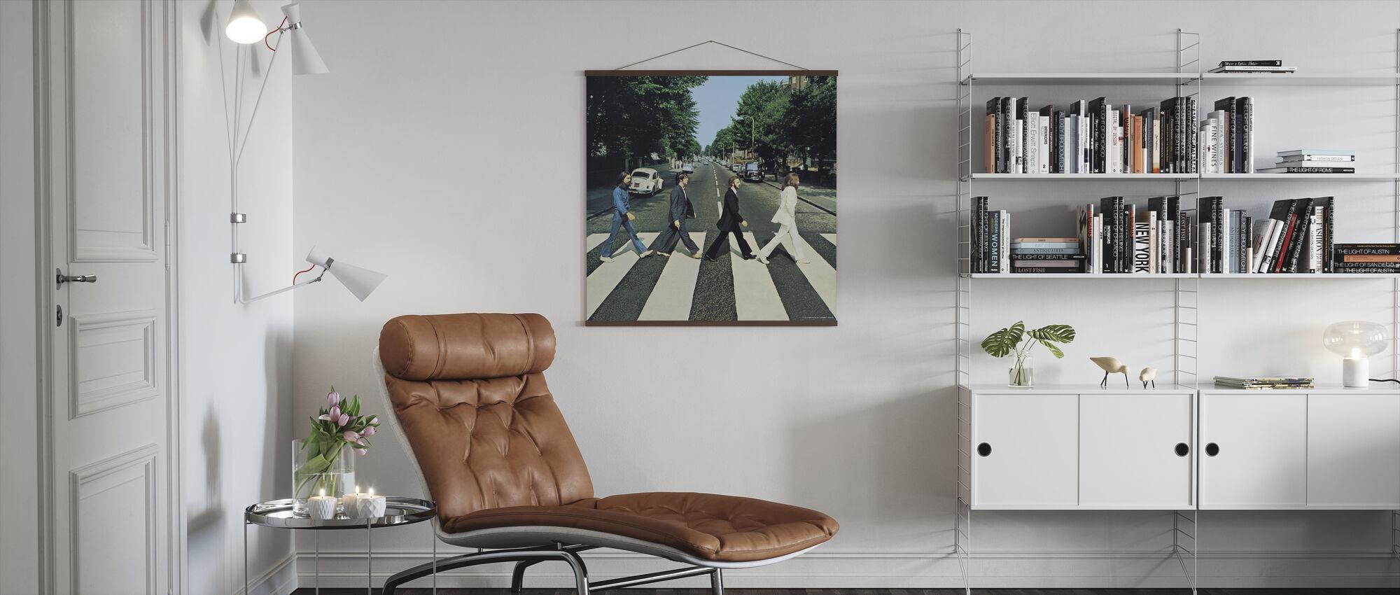 Beatles - Abbey Road - Juliste - Olohuone