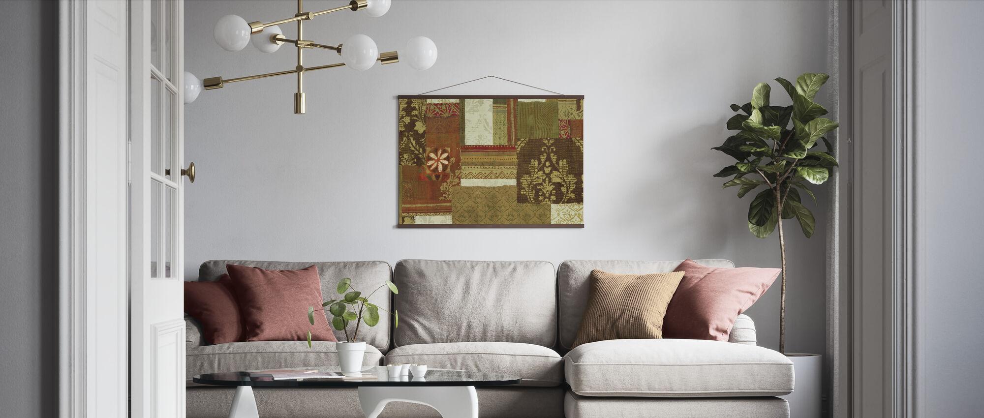 Oosterse kruising - Poster - Woonkamer