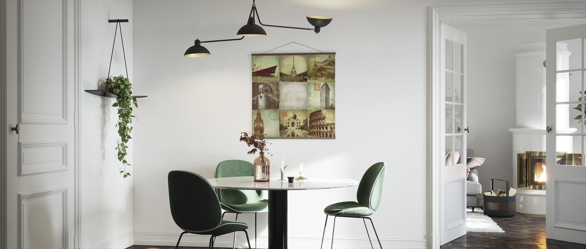 Golden Age Travel - Poster - Kitchen