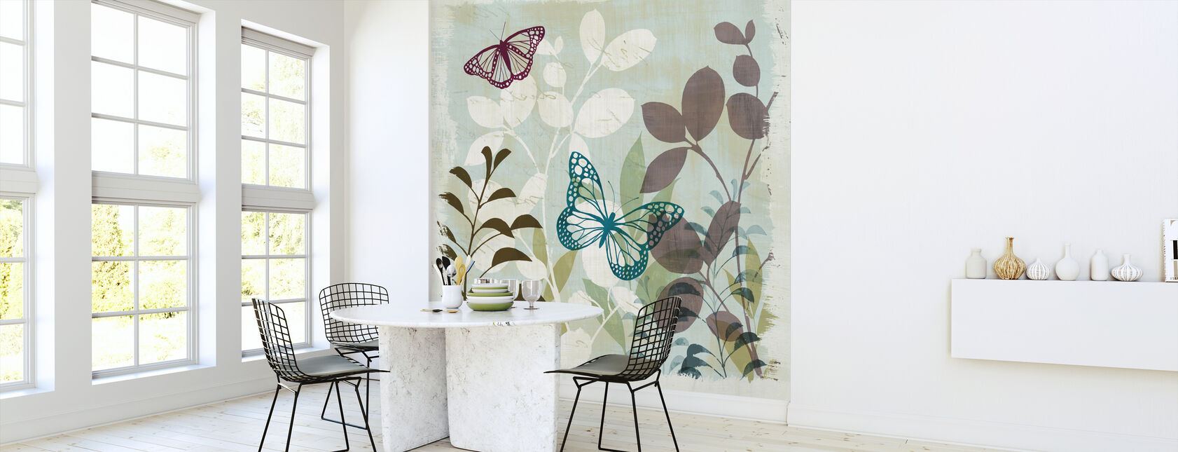 Fluttering I - Wallpaper - Kitchen