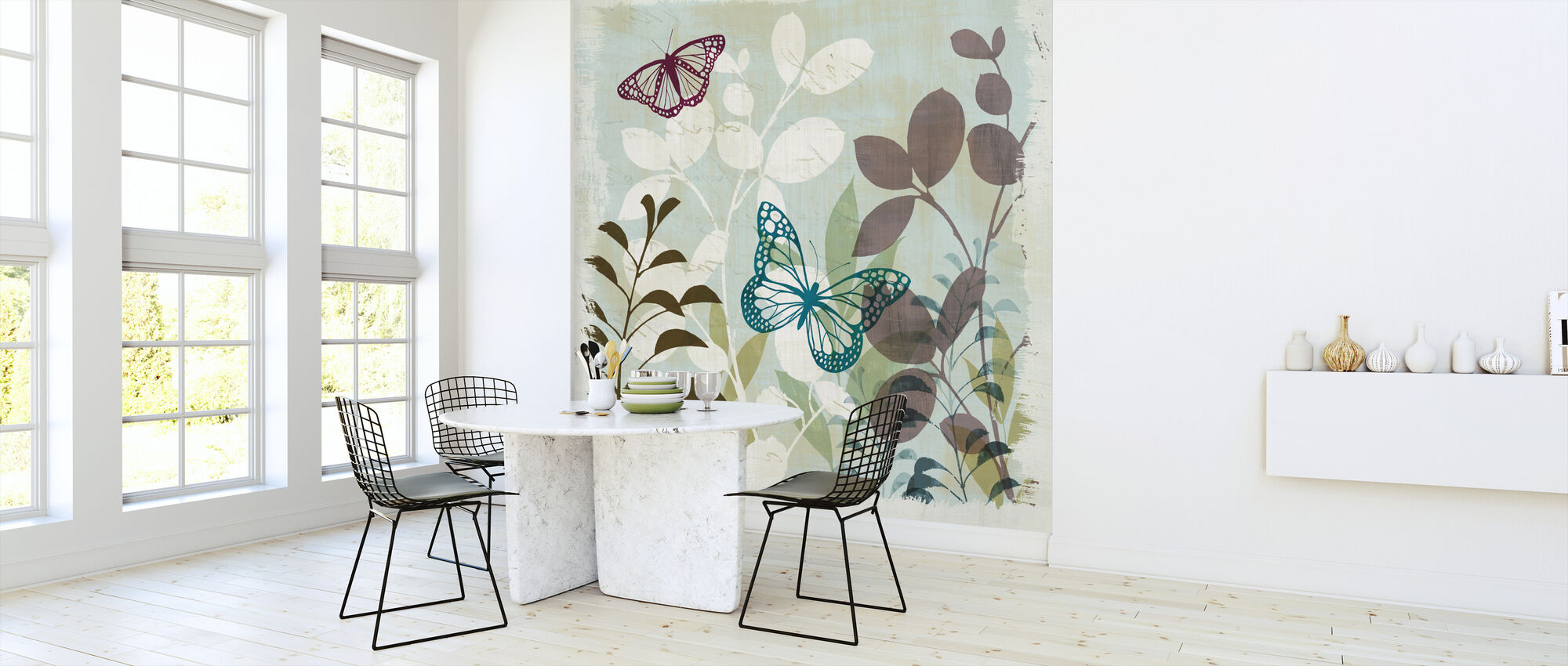 Fluttering I - Wallpaper - Kitchen