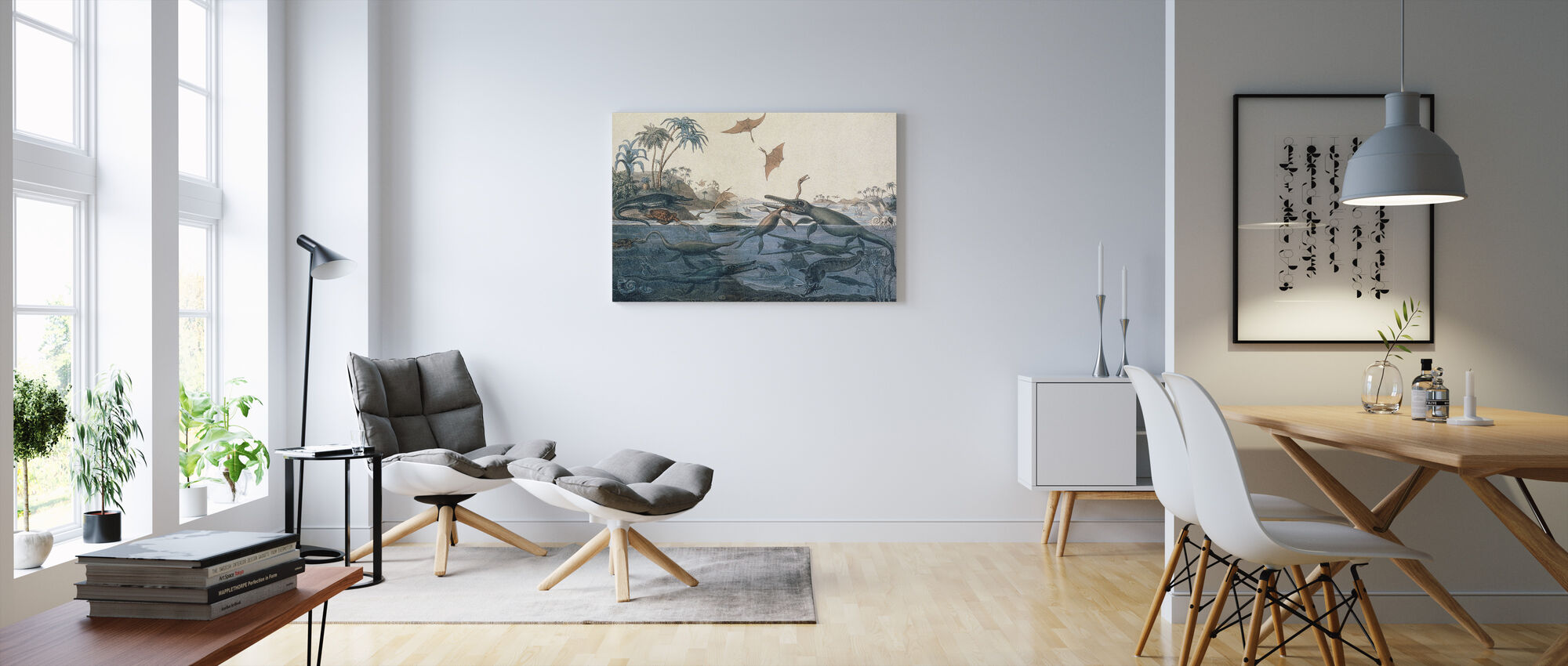 Henry De la Beche - Duria Antiquior - Canvas print - Living Room