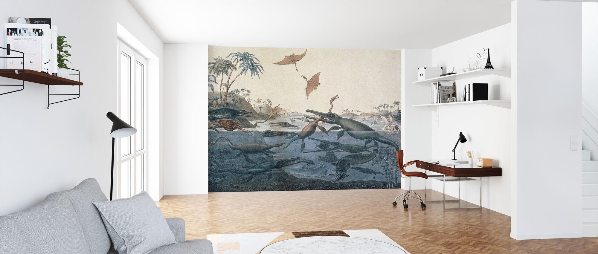 Henry De la Beche - Duria Antiquior - Wallpaper - Office