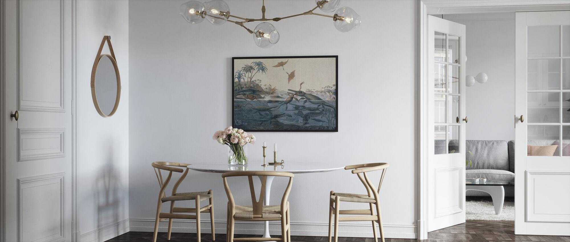 Henry De la Beche - Duria Antiquior - Framed print - Kitchen