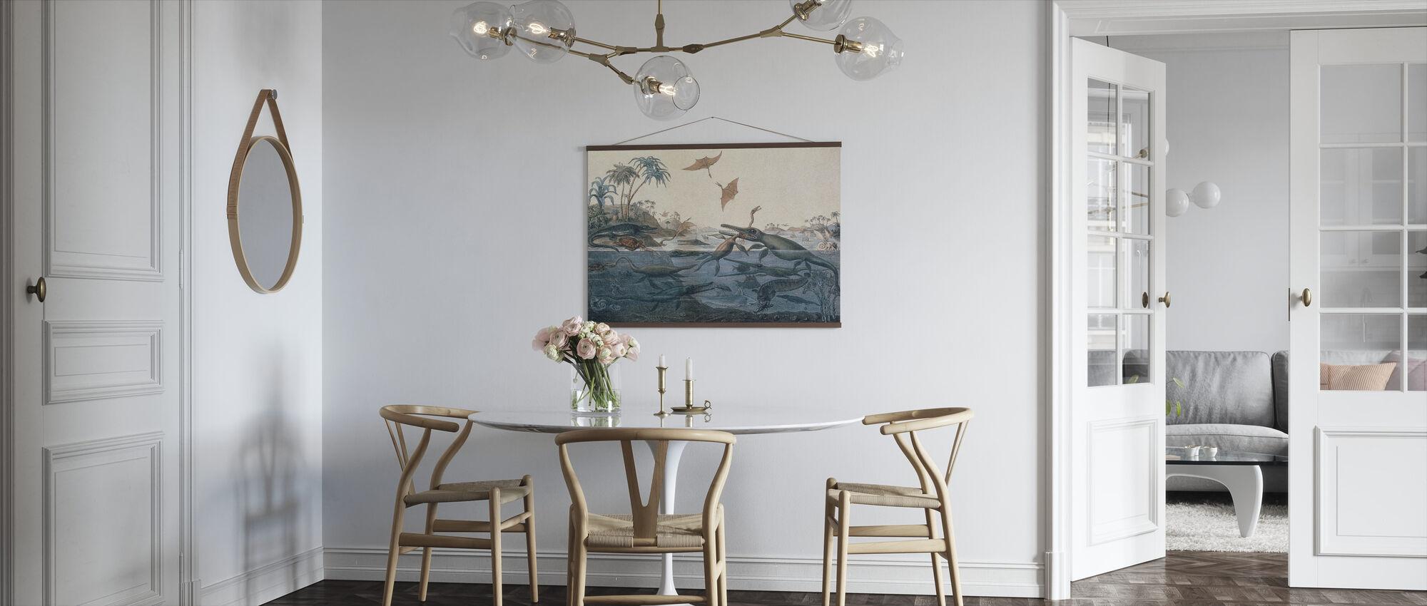 Henry De la Beche - Duria Antiquior - Poster - Kitchen