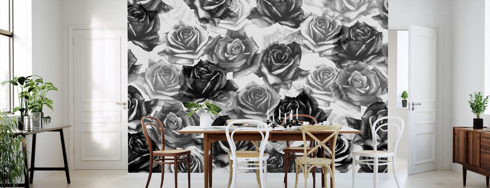 My Black Roses - Wallpaper - Kitchen
