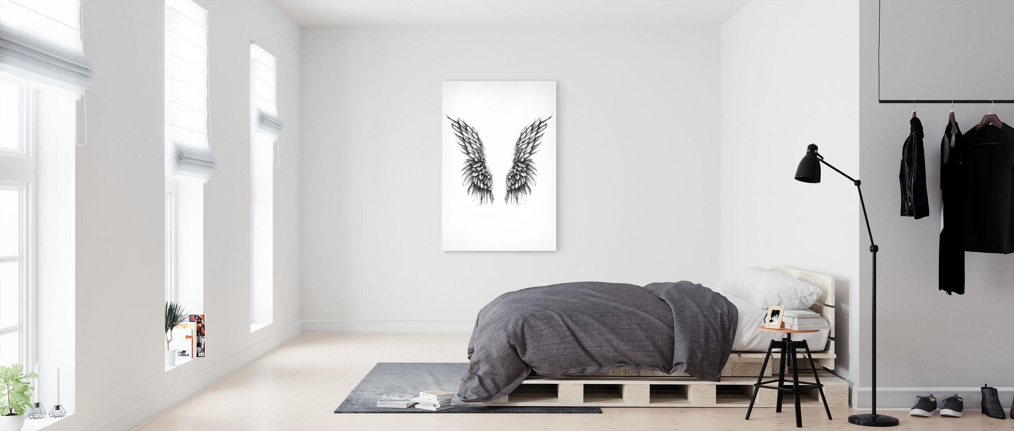 Watch over me - Canvas print - Bedroom
