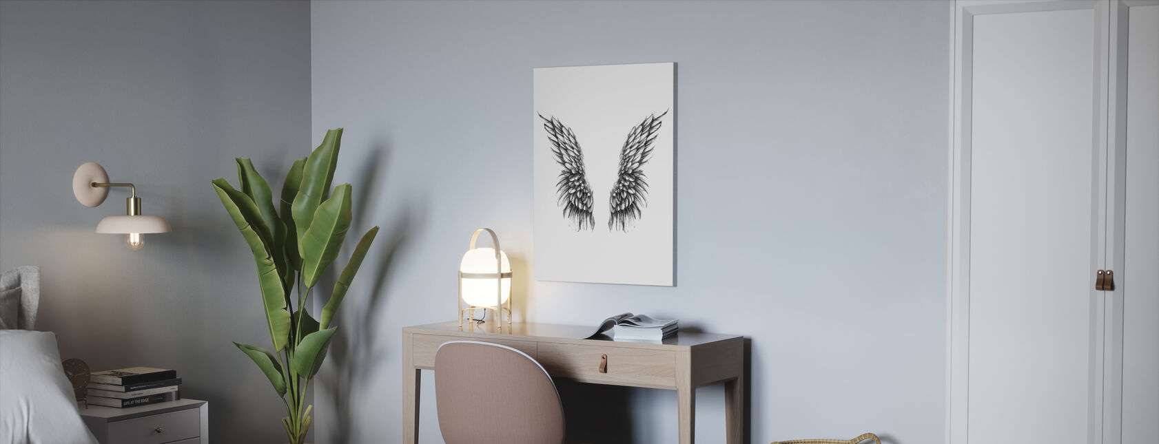 Watch over me - Canvas print - Office