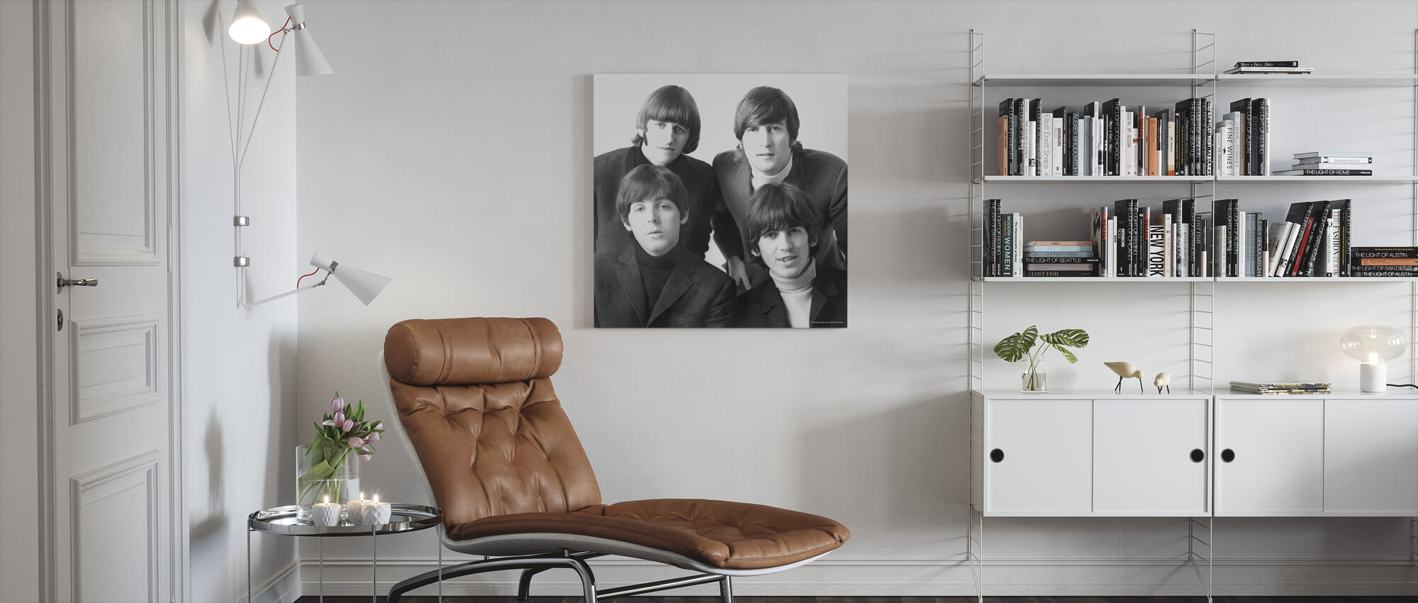 De Beatles - Canvas print - Woonkamer