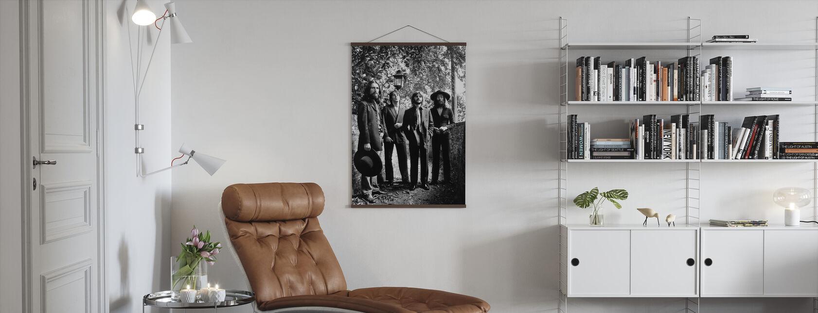 The Beatles - Sesión de fotos final 1969 - Póster - Salón
