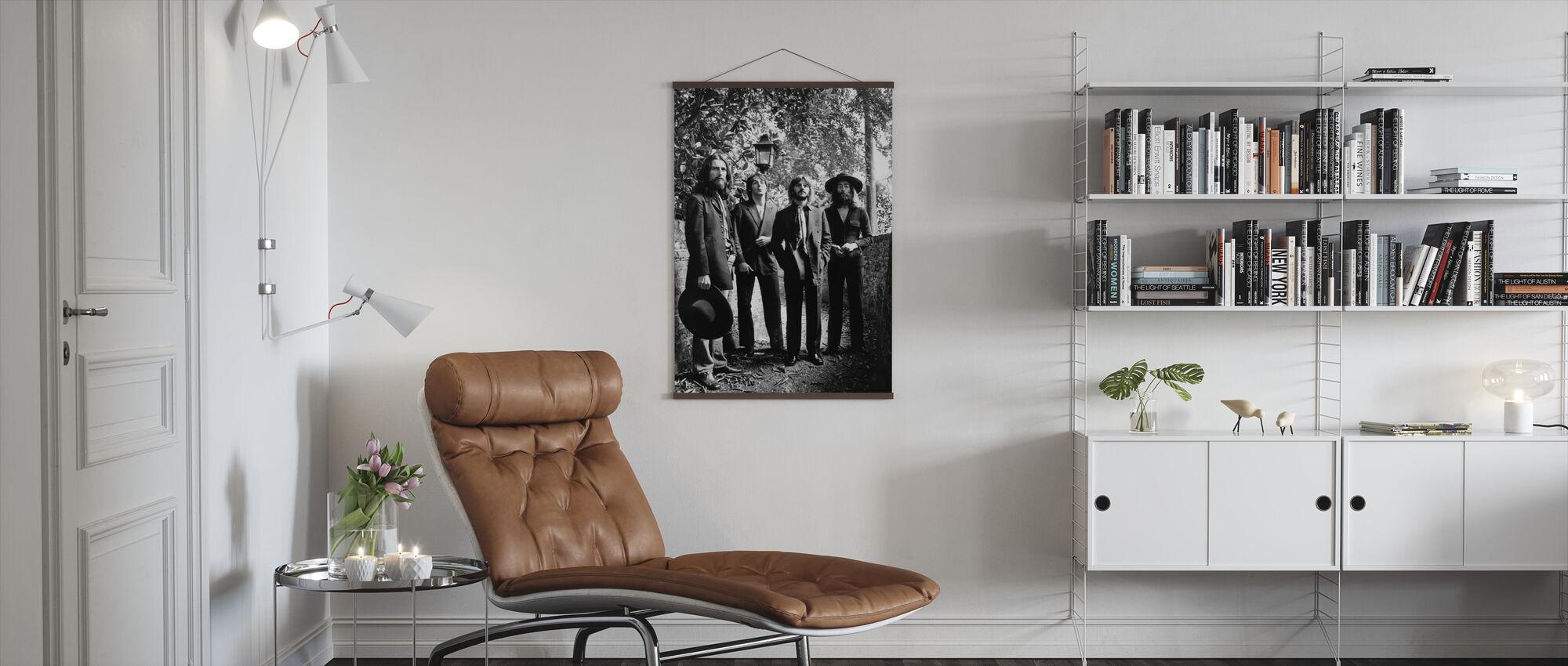 The Beatles - Lopullinen valokuva-istunto 1969 - Juliste - Olohuone
