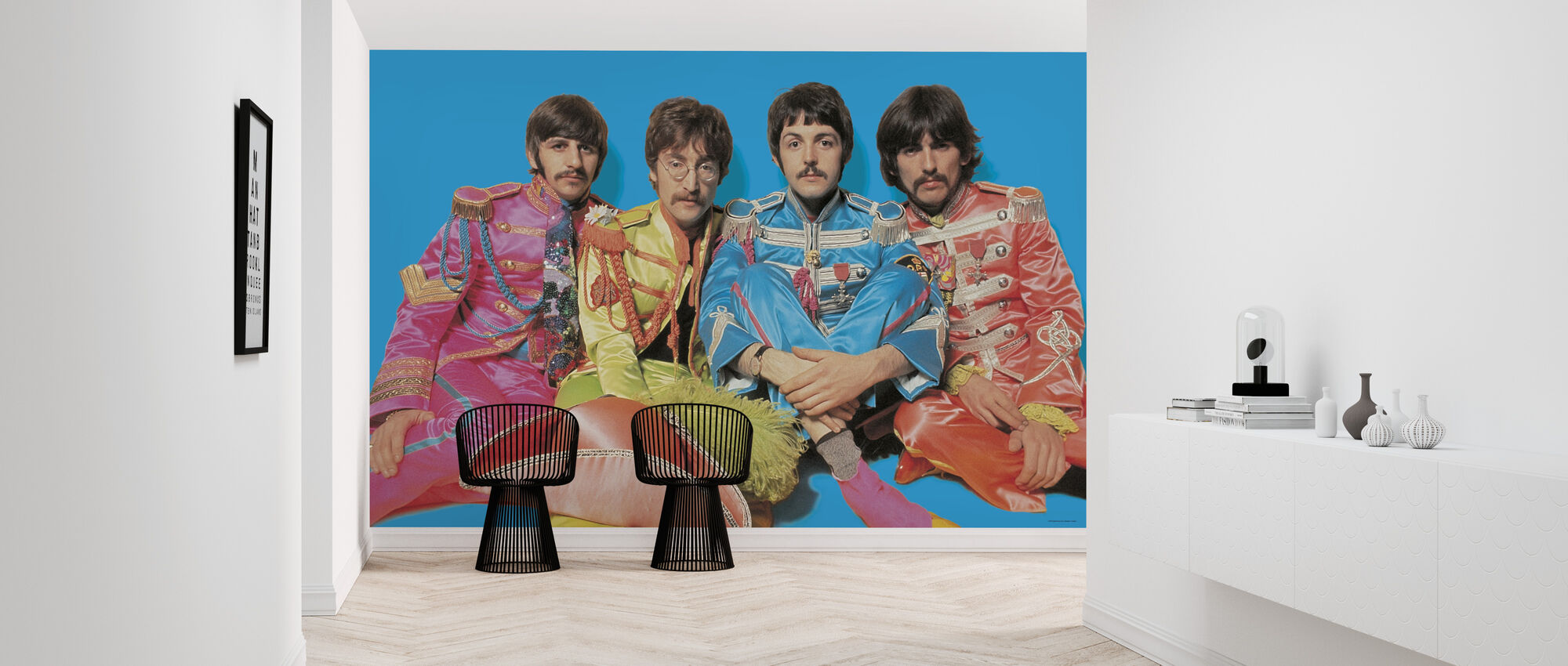 The Beatles - Sgt Peppers ensomme hjerter Club Band - Tapet - Gang