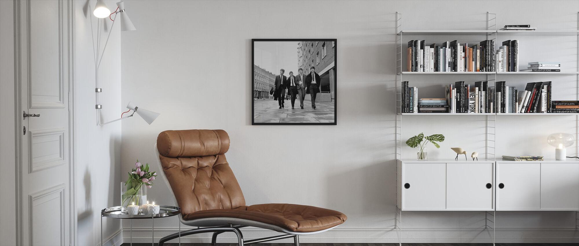 Beatles - Jalkakäytävä - Kehystetty kuva - Olohuone