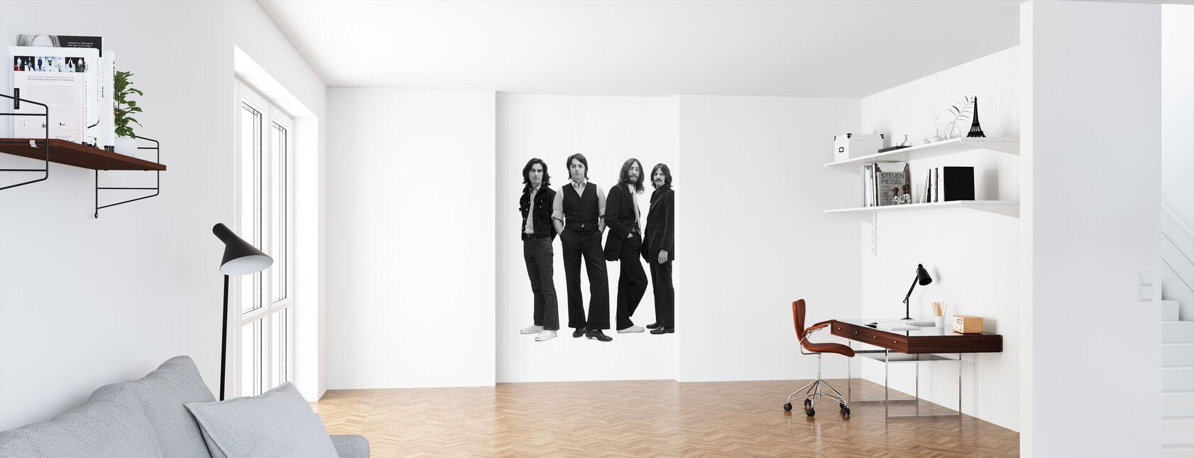 Les Beatles - Pose - Papier peint - Bureau