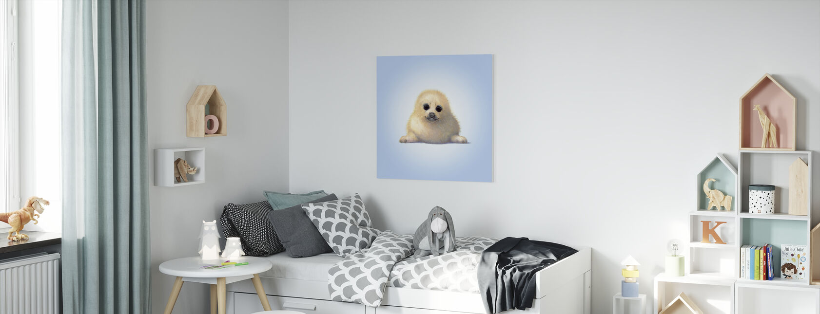 Seal Pup - Canvas print - Kinderkamer