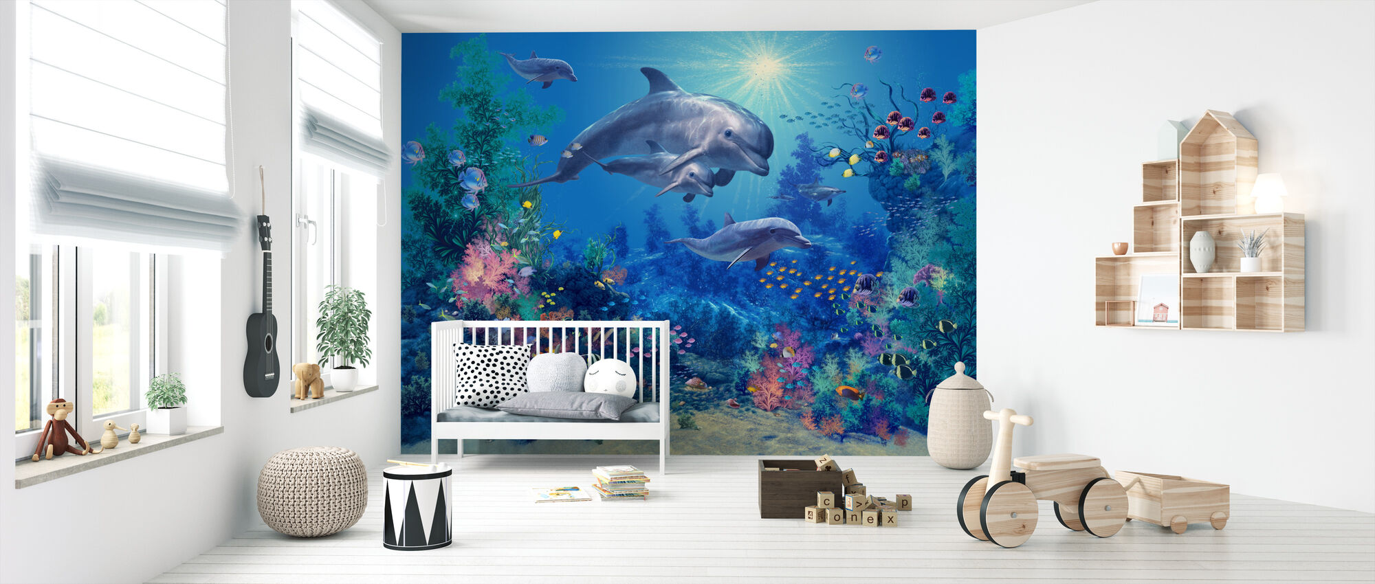 The Family - Wallpaper - Nursery