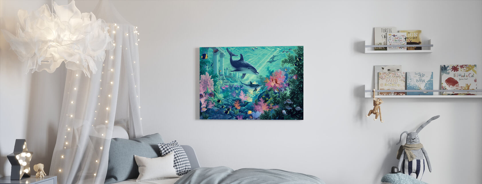 Early Exploration - Canvas print - Kids Room