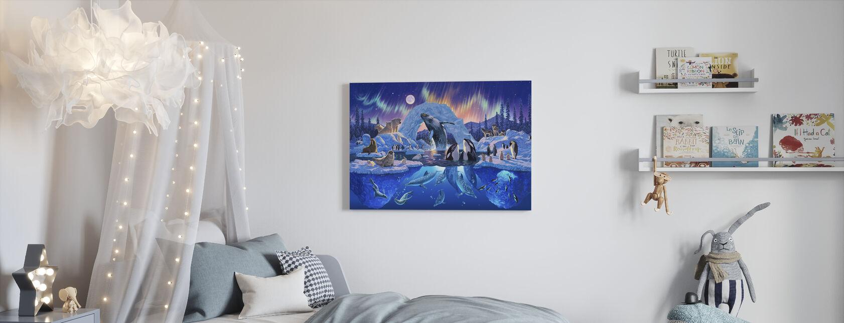 Arctische harmonie - Canvas print - Kinderkamer