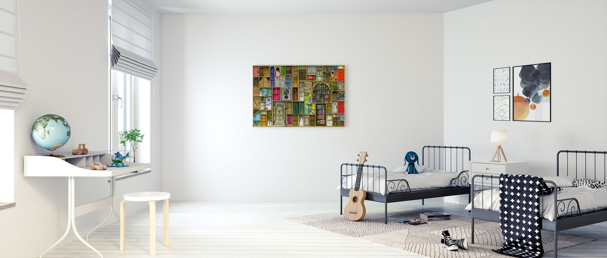 Doors Closed - Canvas print - Kids Room