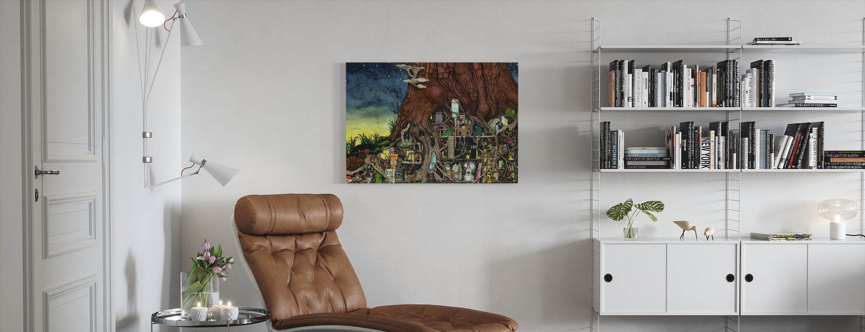 Back To Your Roots - Canvas print - Living Room
