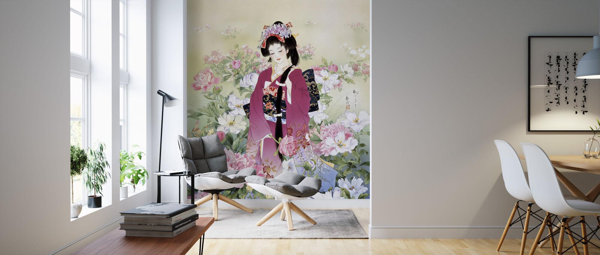 Syakuyaku - Wallpaper - Living Room