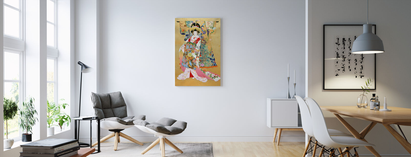 Kogane - Canvas print - Living Room