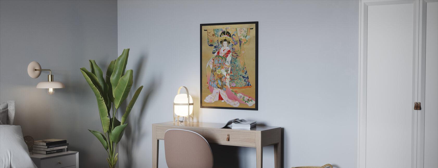 Kogane - Ingelijste print - Slaapkamer