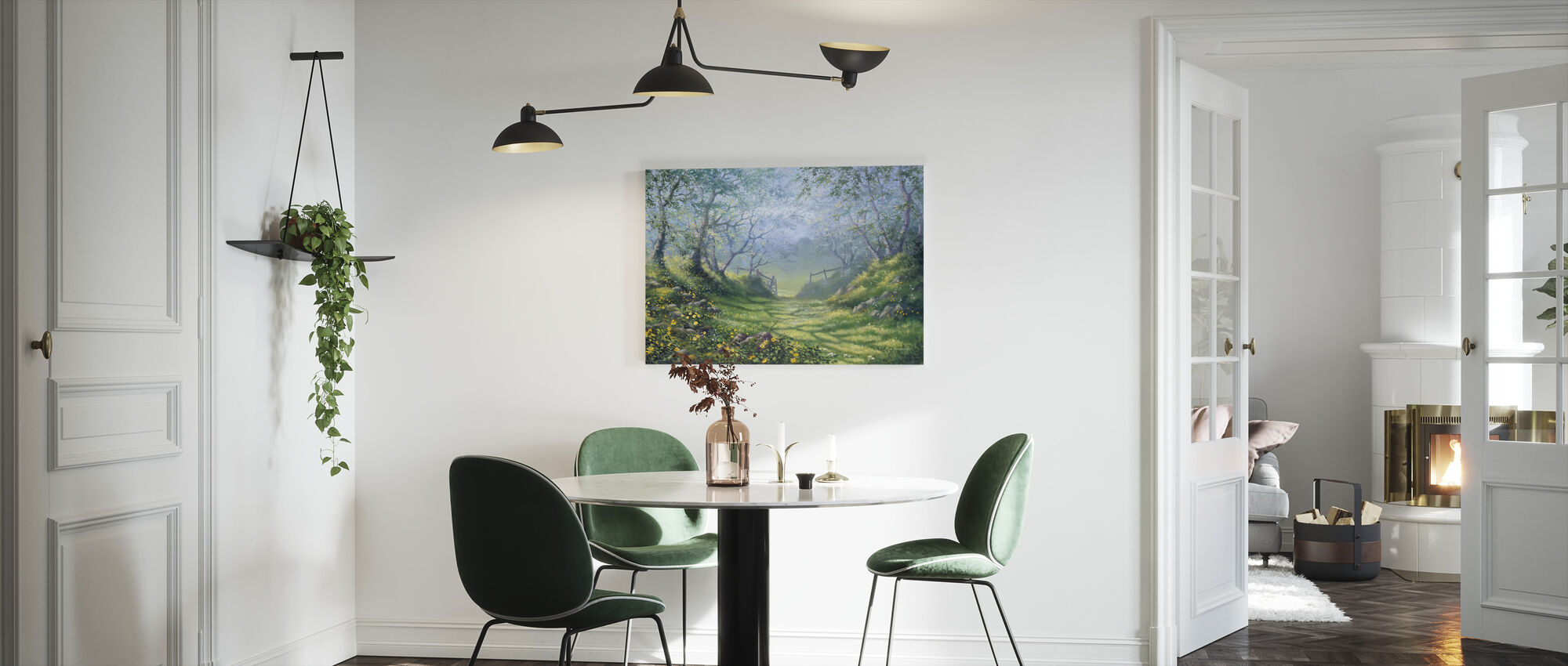 Early Spring - Canvas print - Kitchen