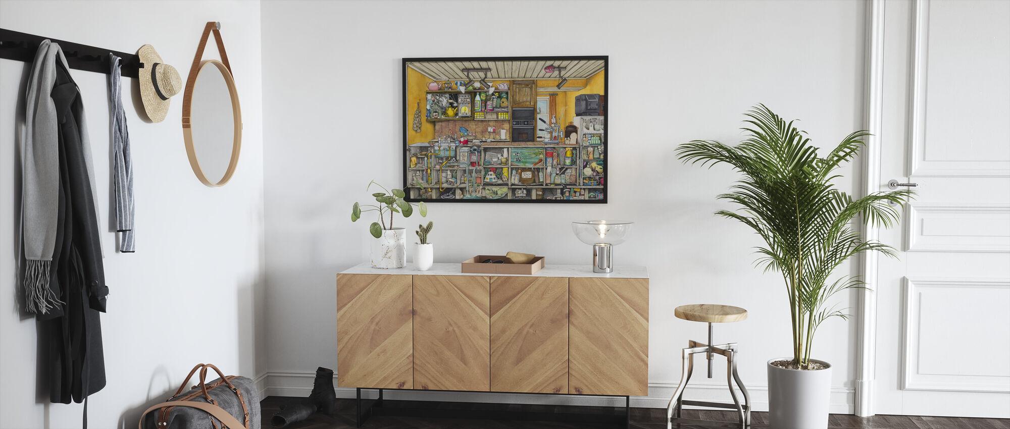 The Kitchen - Framed print - Hallway