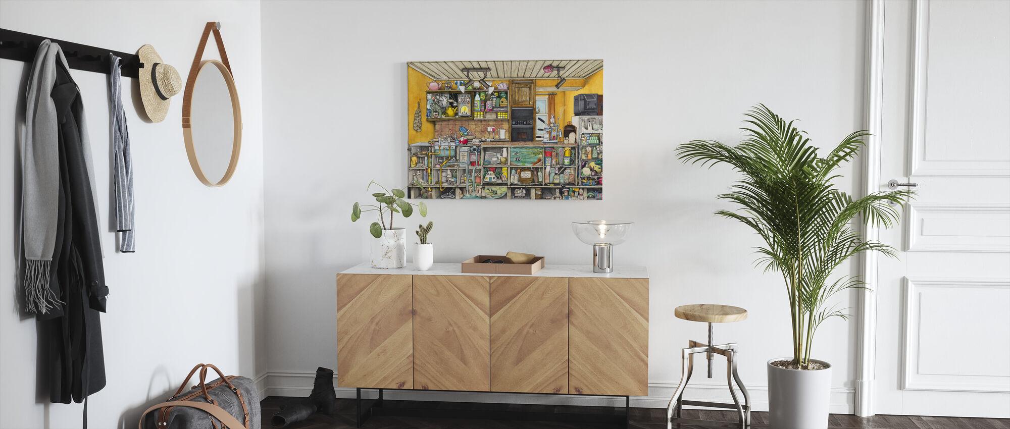 Keittiö - Canvastaulu - Aula