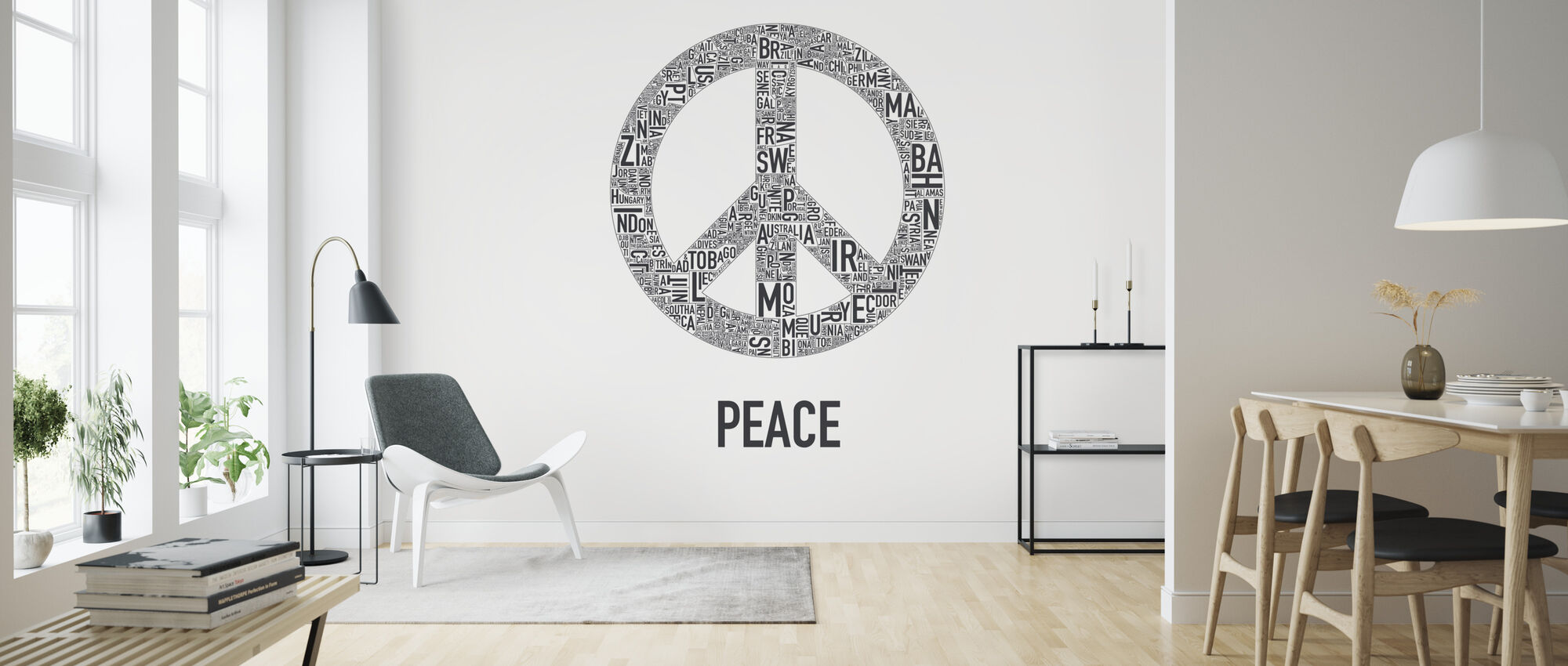 The Peace - Wallpaper - Living Room