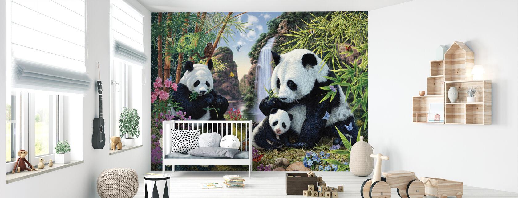 Panda-Tal - Tapete - Babyzimmer