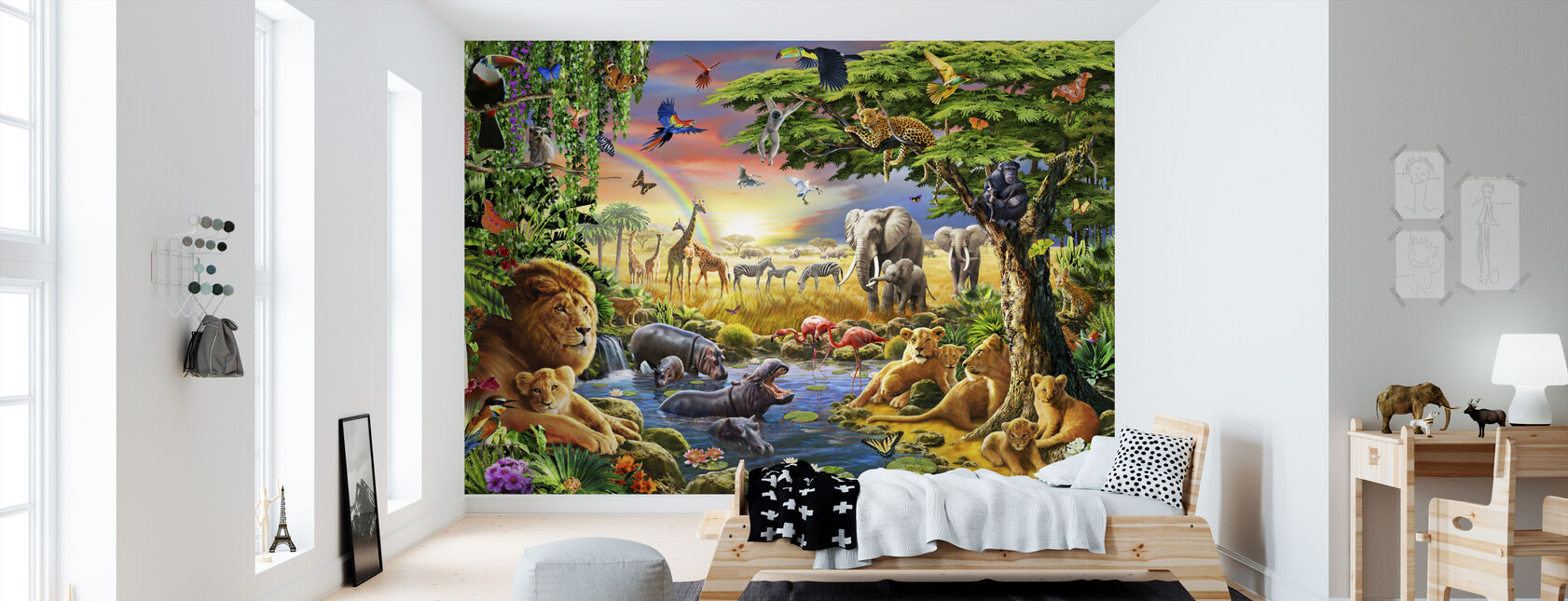 - Waterhole. - Yeah - Wallpaper - Kids Room