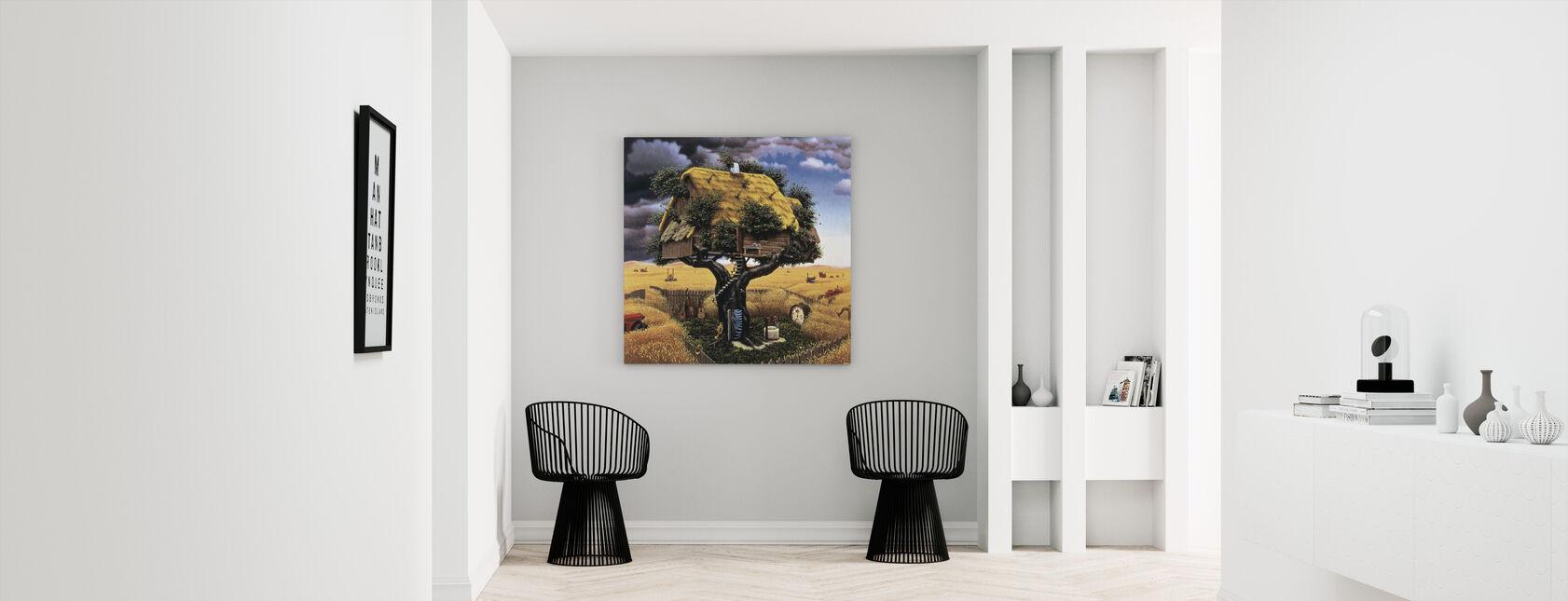 Amok Harvest - Canvas print - Hallway