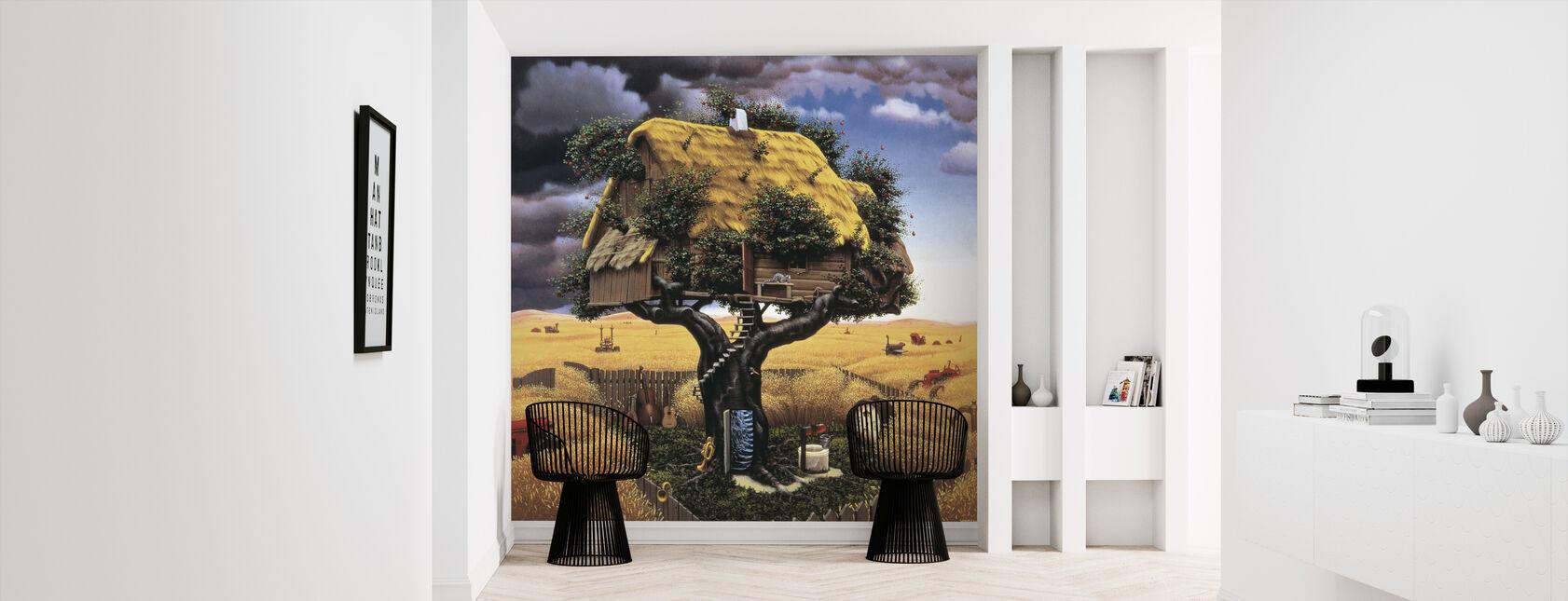 Amok Harvest - Wallpaper - Hallway