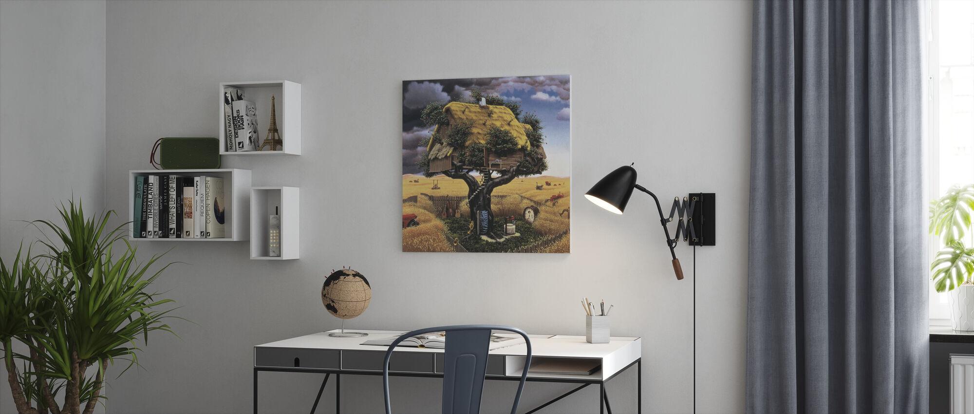 Amok Harvest - Canvas print - Office