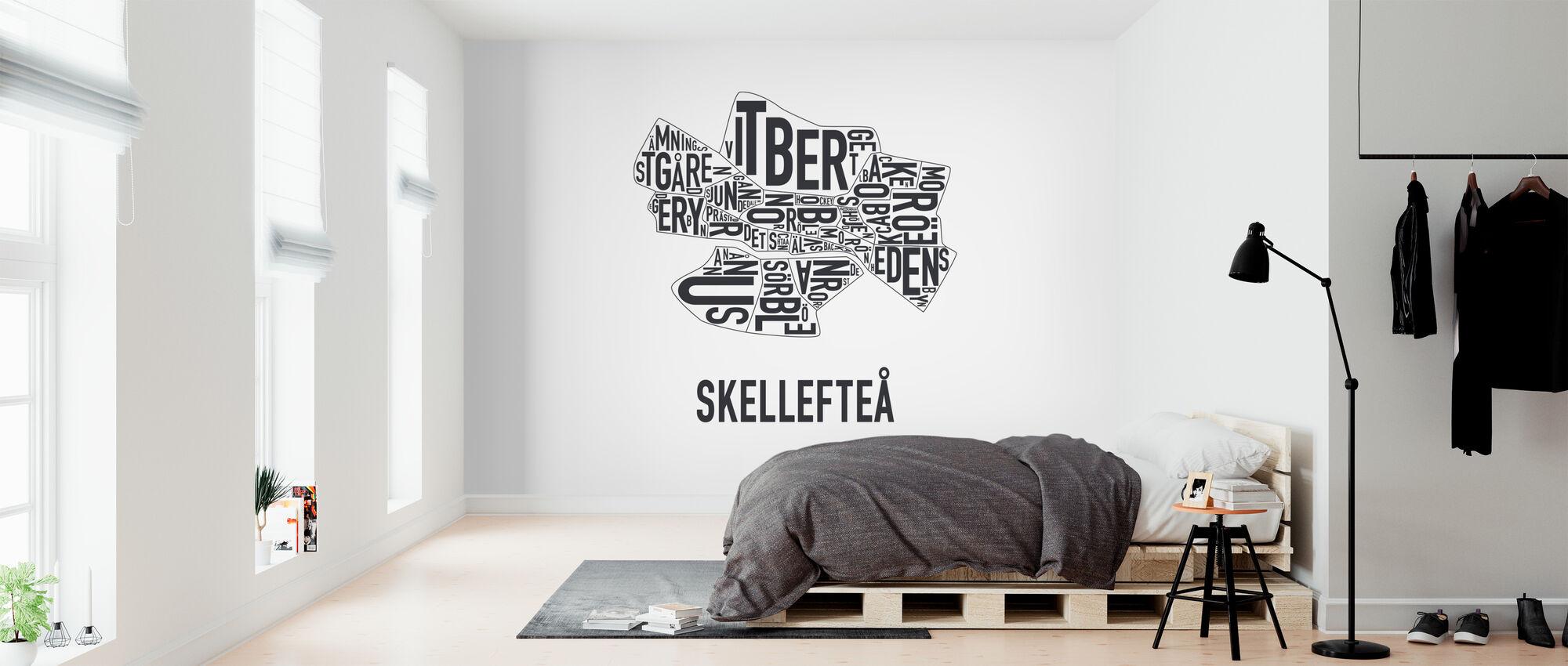 Skellefteå - Tapetti - Makuuhuone