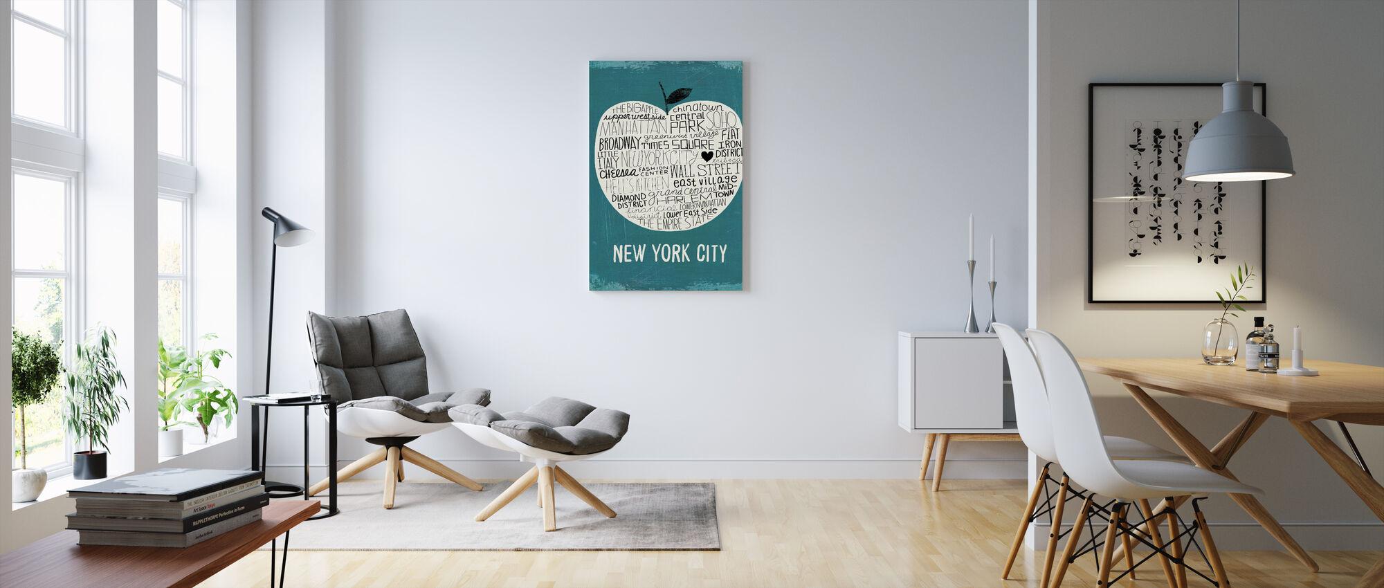 Mullan - Big Apple - Canvastavla - Vardagsrum